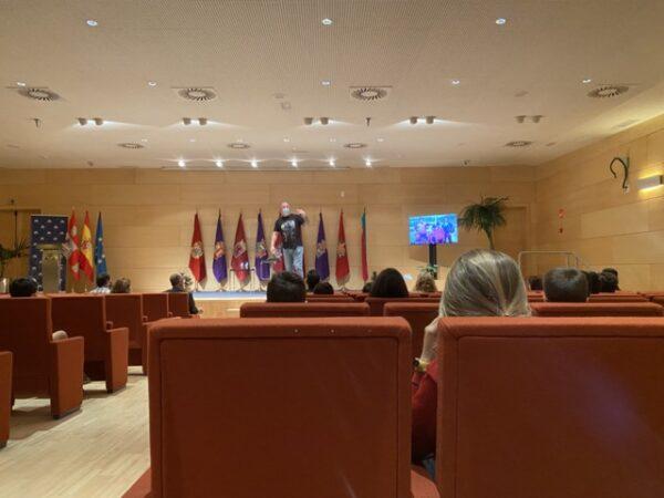 Colegio Lourdes en el Salón de las Cortes