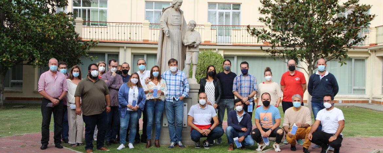 Grupo de participantes de Pastoral en la residencia La Salle Arcas Reales